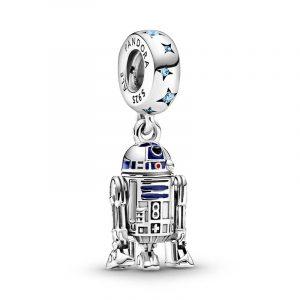 Star Wars R2-D2 Hängberlock - PANDORA - Snabb frakt & paketinslagning - Nordicspectra.se