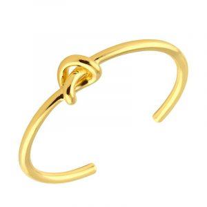 Knot Cuff Gold - Sophie By Sophie - Snabb frakt & paketinslagning - Nordicspectra.se