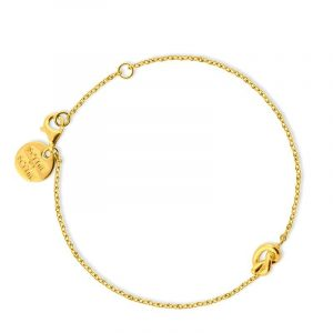 Knot Bracelet Gold - Sophie By Sophie - Snabb frakt & paketinslagning - Nordicspectra.se