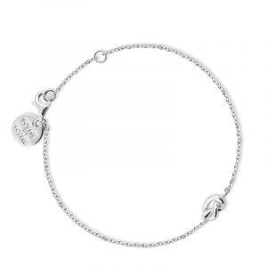 Knot Bracelet Silver - Sophie By Sophie - Snabb frakt & paketinslagning - Nordicspectra.se