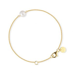 Pearl Bracelet Gold - Sophie By Sophie - Snabb frakt & paketinslagning - Nordicspectra.se