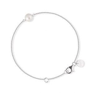 Pearl Bracelet Silver - Sophie By Sophie - Snabb frakt & paketinslagning - Nordicspectra.se