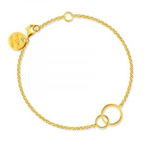 Circle Bracelet Gold - Sophie By Sophie - Snabb frakt & paketinslagning - Nordicspectra.se