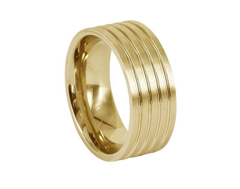 AROCK DAVE Ring Guld