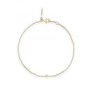 Diamond Sky Drop Bracelet Gold - Drakenberg Sjölin Armband - Snabb frakt & paketinslagning - Nordicspectra.se