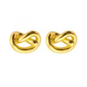 Knot Studs Gold - Sophie By Sophie - Snabb frakt & paketinslagning - Nordicspectra.se
