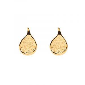 Fig Earrings Gold - Emma Israelsson - Snabb frakt & paketinslagning - Nordicspectra.se