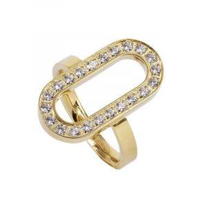 EXCELLENT Open Ring Guld - Astrid & Agnes - Snabb frakt & paketinslagning - Nordicspectra.se