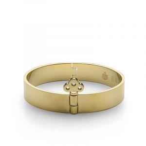 Bangle with Key Lock - Gold - Skultuna - Snabb frakt & paketinslagning - Nordicspectra.se