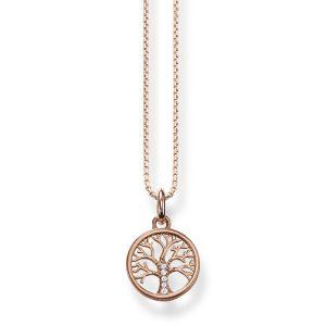 Halsband Tree of Love Rosé - Thomas Sabo halsband - Snabb frakt & paketinslagning - Nordicspectra.se
