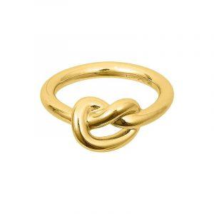 Knot Ring Gold - Sophie By Sophie - Snabb frakt & paketinslagning - Nordicspectra.se
