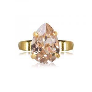 Mini Drop Ring Gold Silk - Caroline Svedbom - Snabb frakt & paketinslagning - Nordicspectra.se