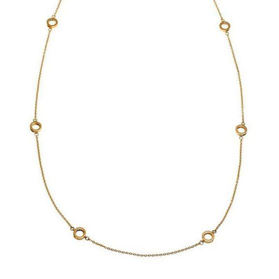 Monaco Necklace Multi Mini Gold - Edblad - Snabb frakt & paketinslagning - Nordicspectra.se