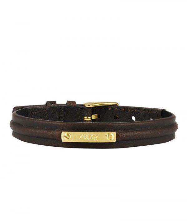 NOEL Armband Brunt/Guld - AROCK - Snabb frakt & paketinslagning - Nordicspectra.se