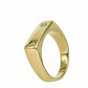 NOUR Stone Ring Guld - Astrid & Agnes - Snabb frakt & paketinslagning - Nordicspectra.se