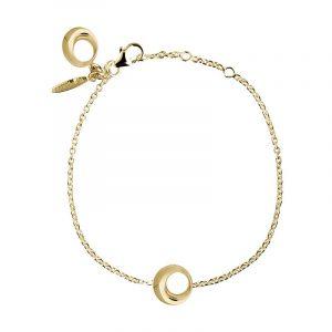 Orbit Drop Bracelet Gold - Drakenberg Sjölin Armband - Snabb frakt & paketinslagning - Nordicspectra.se