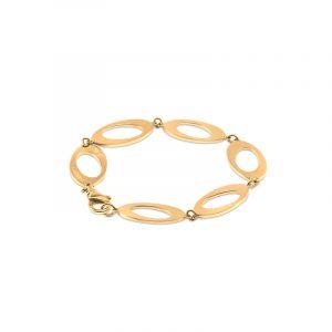 Oval & Out Multi Armband 18 K Guld - Snabb frakt & fri paketinslagning - Nordicspectra.se
