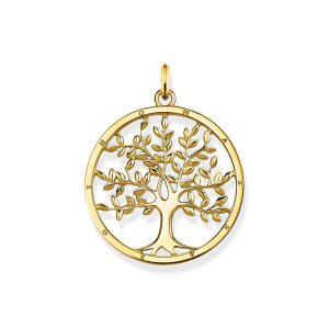 Hängsmycke Tree of Love Guld - Thomas Sabo hängsmycke - Snabb frakt & paketinslagning - Nordicspectra.se