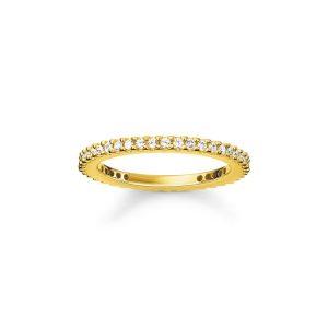 Glam & Soul Mini Ring Guld - Thomas Sabo ringar - Snabb frakt & paketinslagning - Nordicspectra.se