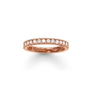 Eternity Ring Pavé Rosé - Thomas Sabo ringar - Snabb frakt & paketinslagning - Nordicspectra.se