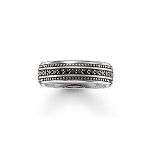 Svart Eternity Ring - Thomas Sabo ringar - Snabb frakt & paketinslagning - Nordicspectra.se