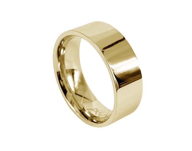 AROCK WALTER Shiny Ring Guld