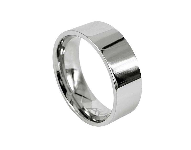AROCK WALTER Shiny Ring Stål