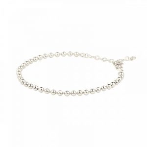 Globe Bracelet Silver - Emma Israelsson - Snabb frakt & paketinslagning - Nordicspectra.se