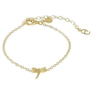 Dragonfly Brace Gold -CU Jewellery - Snabb frakt & paketinslagning - Nordicspectra.se