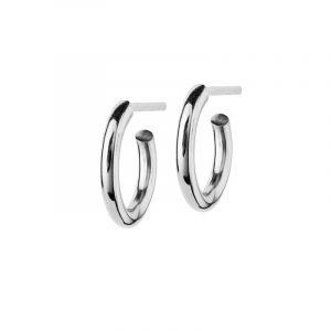 Hoops Earrings Steel Small - Edblad - Snabb frakt & paketinslagning - Nordicspectra.se