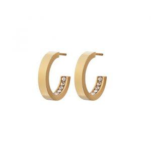 Monaco Earrings Mini Gold - Edblad - Snabb frakt & paketinslagning - Nordicspectra.se
