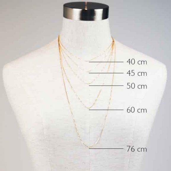 Sparkling Globe Necklace Gold - Emma Israelsson - Snabb frakt & paketinslagning - Nordicspectra.se