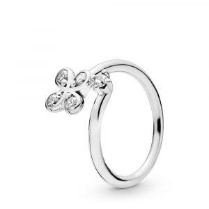 Four Petal Flower Ring - PANDORA - Snabb frakt & paketinslagning - Nordicspectra.se