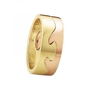 Fusion 2-delad Ring RG/RG - Georg Jensen ringar - Snabb frakt & paketinslagning - Nordicspectra.se