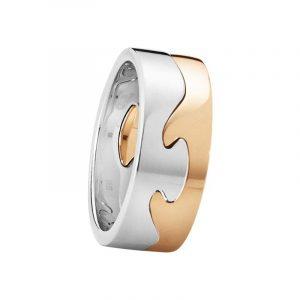 Fusion 2-delad Ring VG/RG - Georg Jensen ringar - Snabb frakt & paketinslagning - Nordicspectra.se