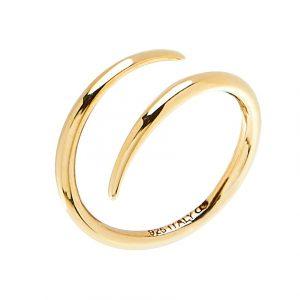 Loop Ring Gold -CU Jewellery - Snabb frakt & paketinslagning - Nordicspectra.se