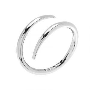 Loop Ring Silver -CU Jewellery - Snabb frakt & paketinslagning - Nordicspectra.se