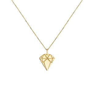 Diamond Necklace Golden  - Emma Israelsson - Snabb frakt & paketinslagning - Nordicspectra.se