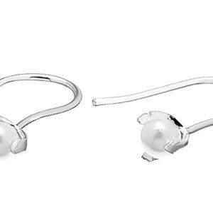 Pearl Short Ear Silver -CU Jewellery - Snabb frakt & paketinslagning - Nordicspectra.se