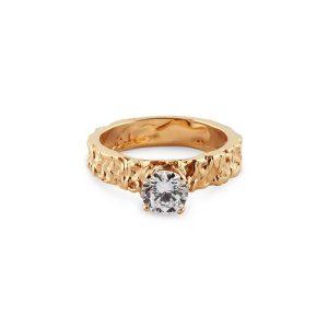 Small Princess Ring Gold - Emma Israelsson - Snabb frakt & paketinslagning - Nordicspectra.se