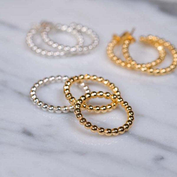 Globe Ring Silver - Emma Israelsson - Snabb frakt & paketinslagning - Nordicspectra.se