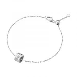 Fusion Armband 18K Vitguld med Diamanter - Georg Jensen armband - Snabb frakt & paketinslagning - Nordicspectra.se