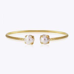 Classic Petite Bracelet Gold Pearl - Caroline Svedbom - Snabb frakt & paketinslagning - Nordicspectra.se