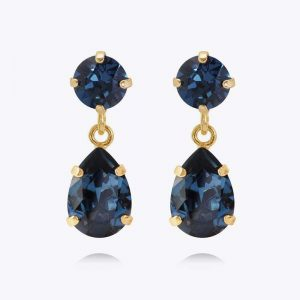 Mini Drop Earrings Gold Montana - Caroline Svedbom - Snabb frakt & paketinslagning - Nordicspectra.se